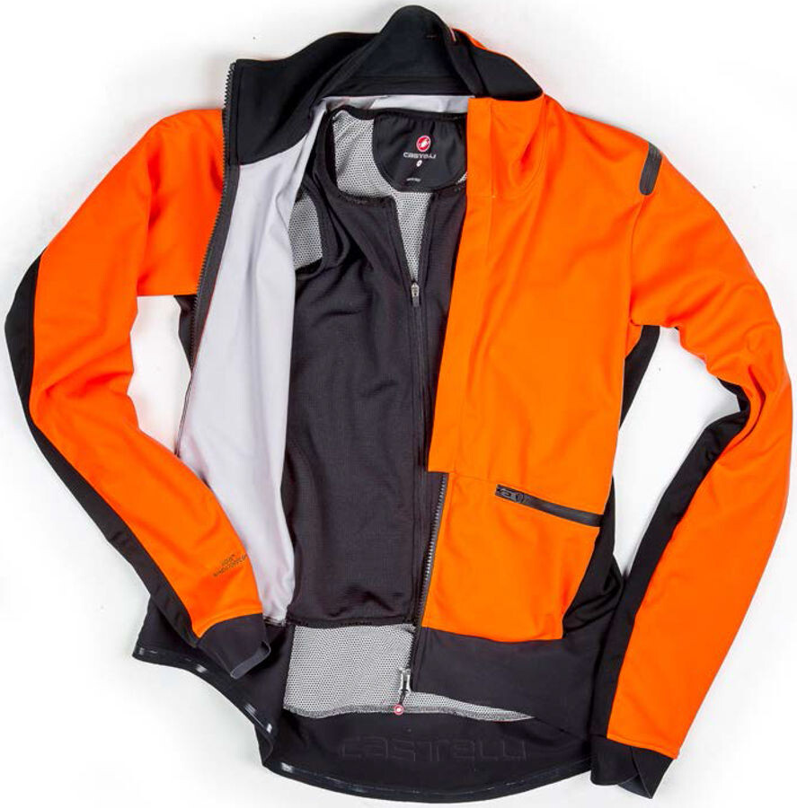 ▷ Castelli Alpha Ros Jacket Men orange/black online bestellen bei ...